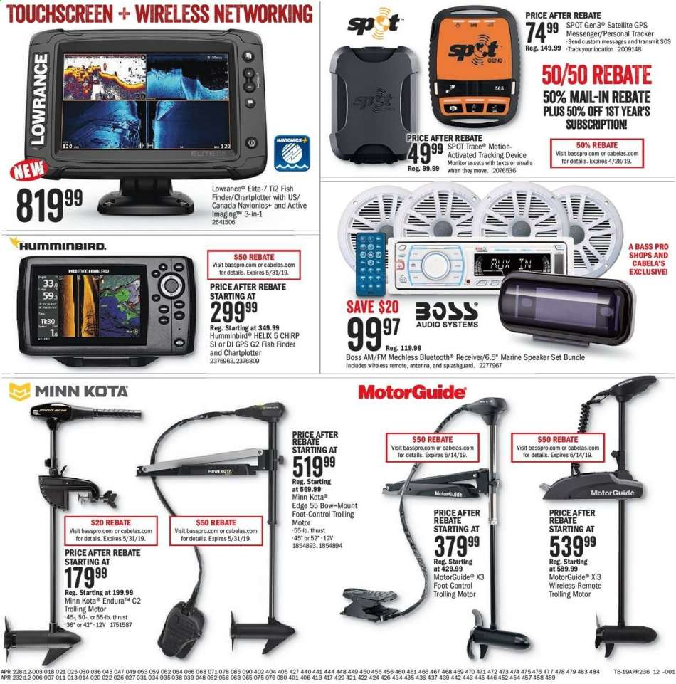 Bass Pro Shops flyer 04 12 2019 - 04 28 2019 | Weekly-ads us