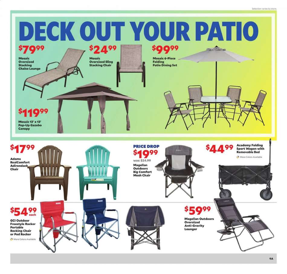 Swell Academy Sports Flyer 04 14 2019 04 20 2019 Weekly Ads Us Dailytribune Chair Design For Home Dailytribuneorg