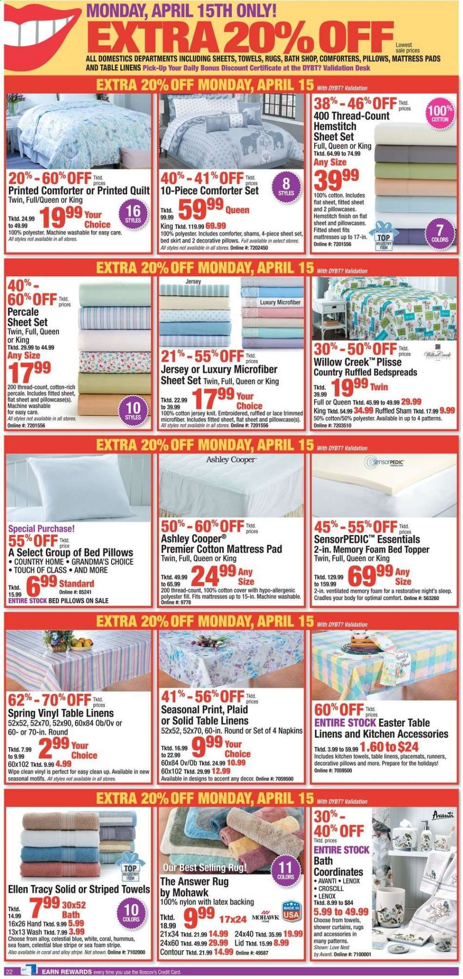 8895c2584e7 Boscov's flyer 04.14.2019 - 04.21.2019 | Weekly-ads.us