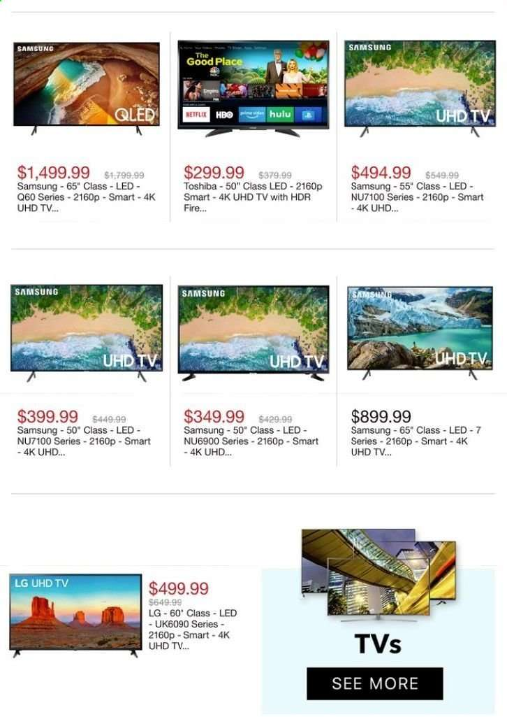59e6597962a Best Buy Flyer - 04.14.2019 - 04.20.2019 - Sales products - 4k