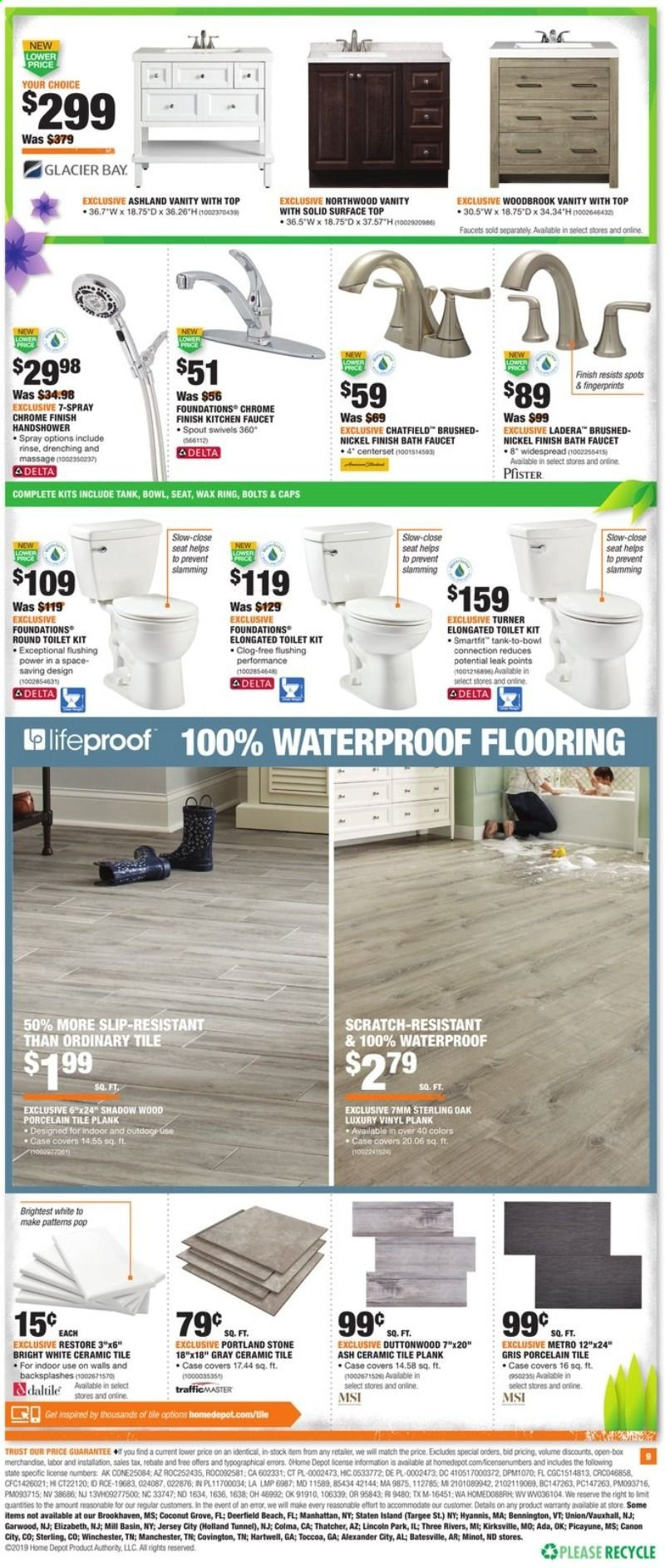 The Home Depot Flyer 04 18 2019 04 24 2019 Page 9 Weekly Ads