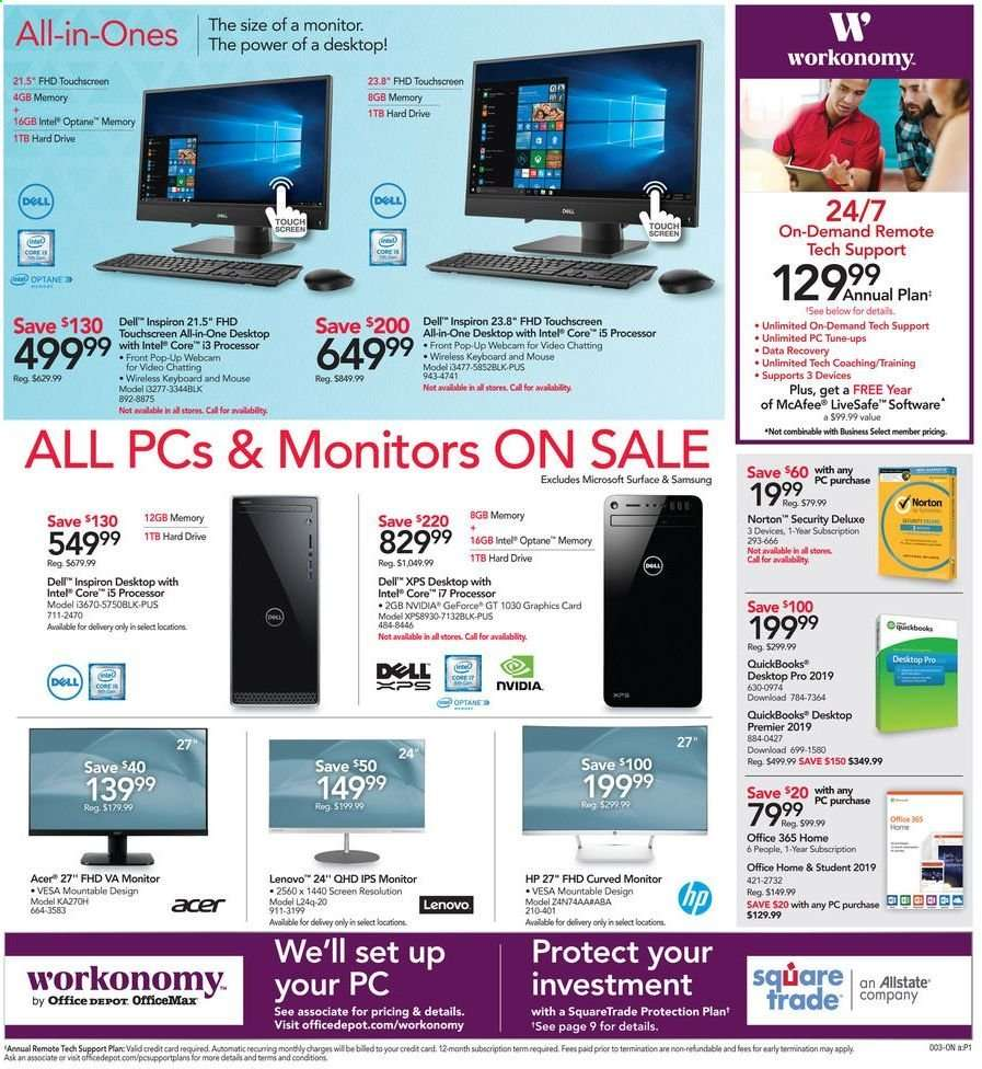 Office DEPOT flyer 04 21 2019 - 04 27 2019   Weekly-ads us