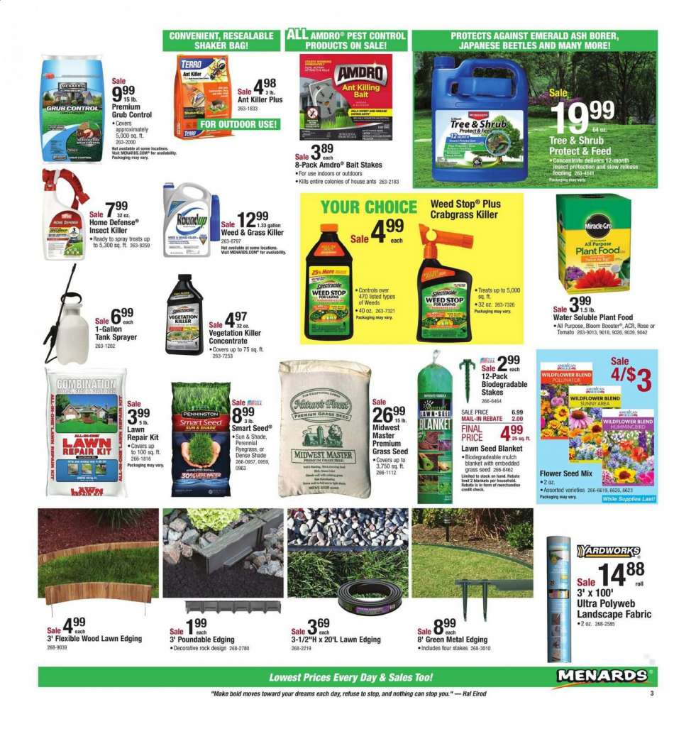 Menards Flyer 04 21 2019 05 05 2019 Weekly Ads Us