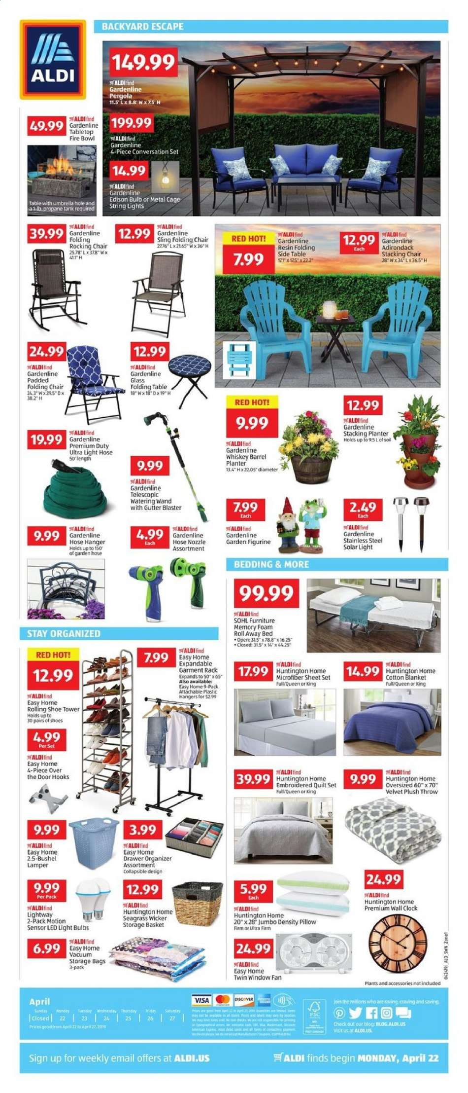 Remarkable Aldi Flyer 04 22 2019 04 27 2019 Weekly Ads Us Bralicious Painted Fabric Chair Ideas Braliciousco