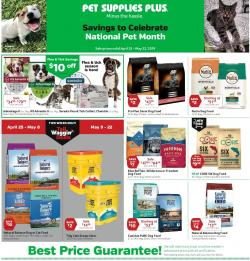 Pet Supplies Plus - ad, flyer, circular, coupon and sales | Weekly
