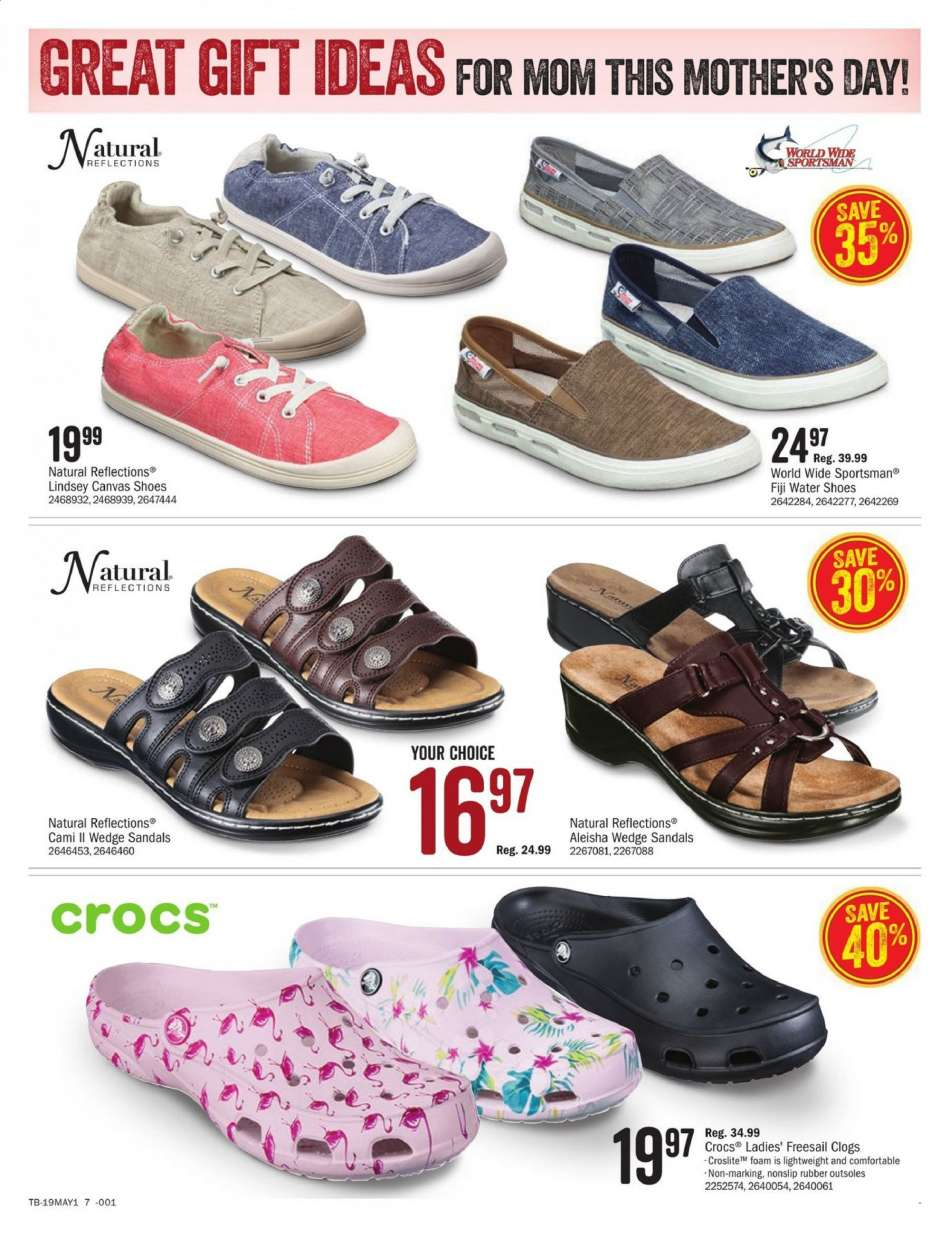 7adf2afab Cabela s Flyer - 04.26.2019 - 05.12.2019 - Sales products - clogs