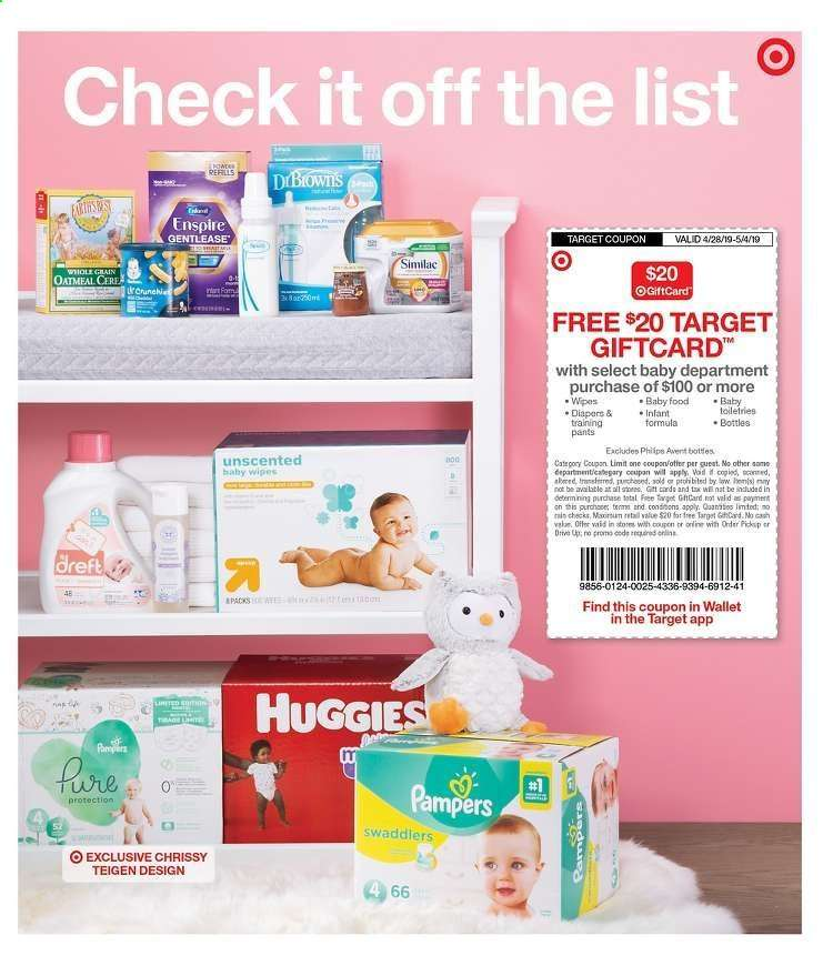 Target Baby Ads