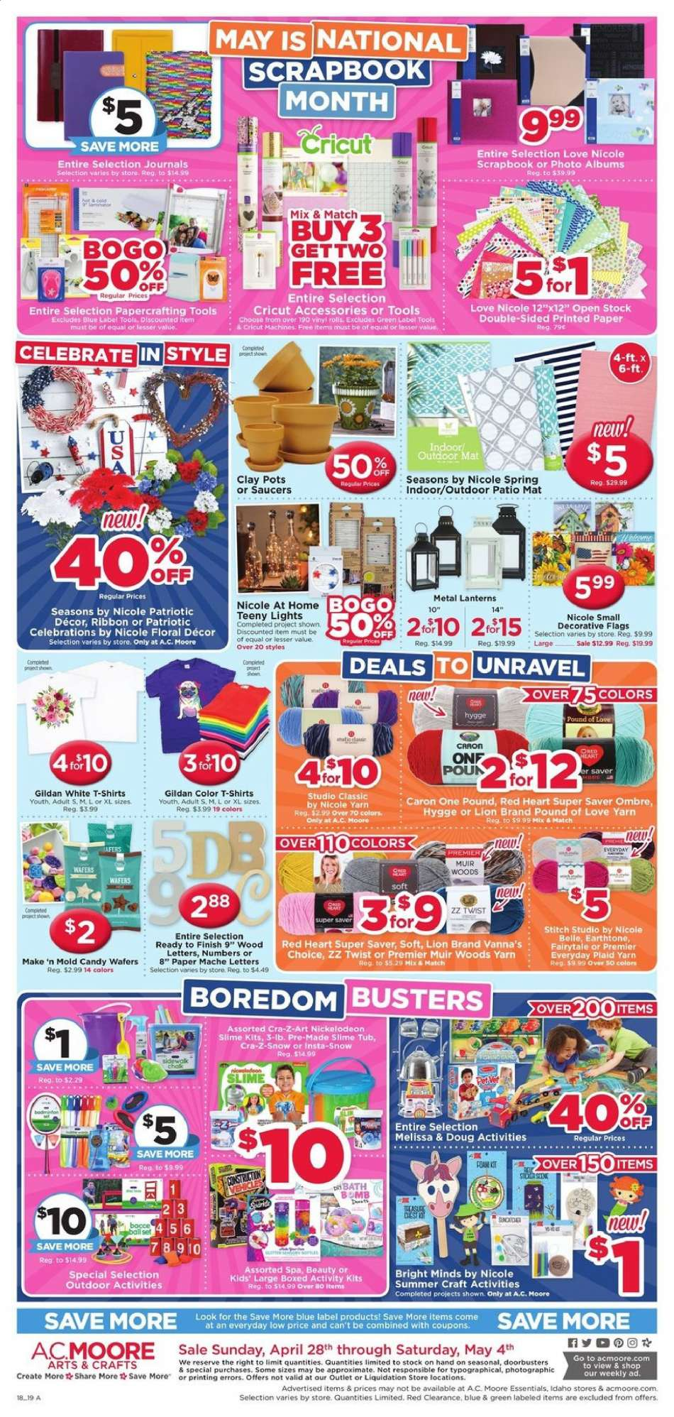 A C  Moore flyer 04 28 2019 - 05 04 2019 | Weekly-ads us
