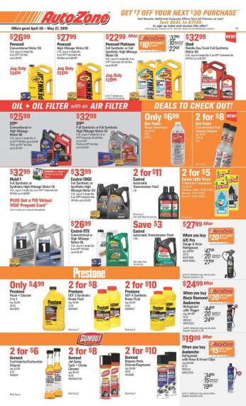 Autozone Ads Locations Hours Of Stores Near You Flyers And