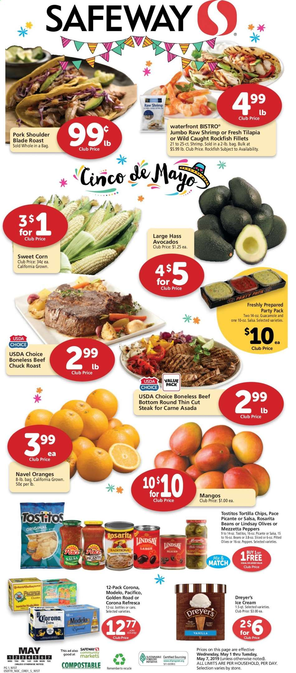 Safeway flyer 05 01 2019 - 05 07 2019 | Weekly-ads us