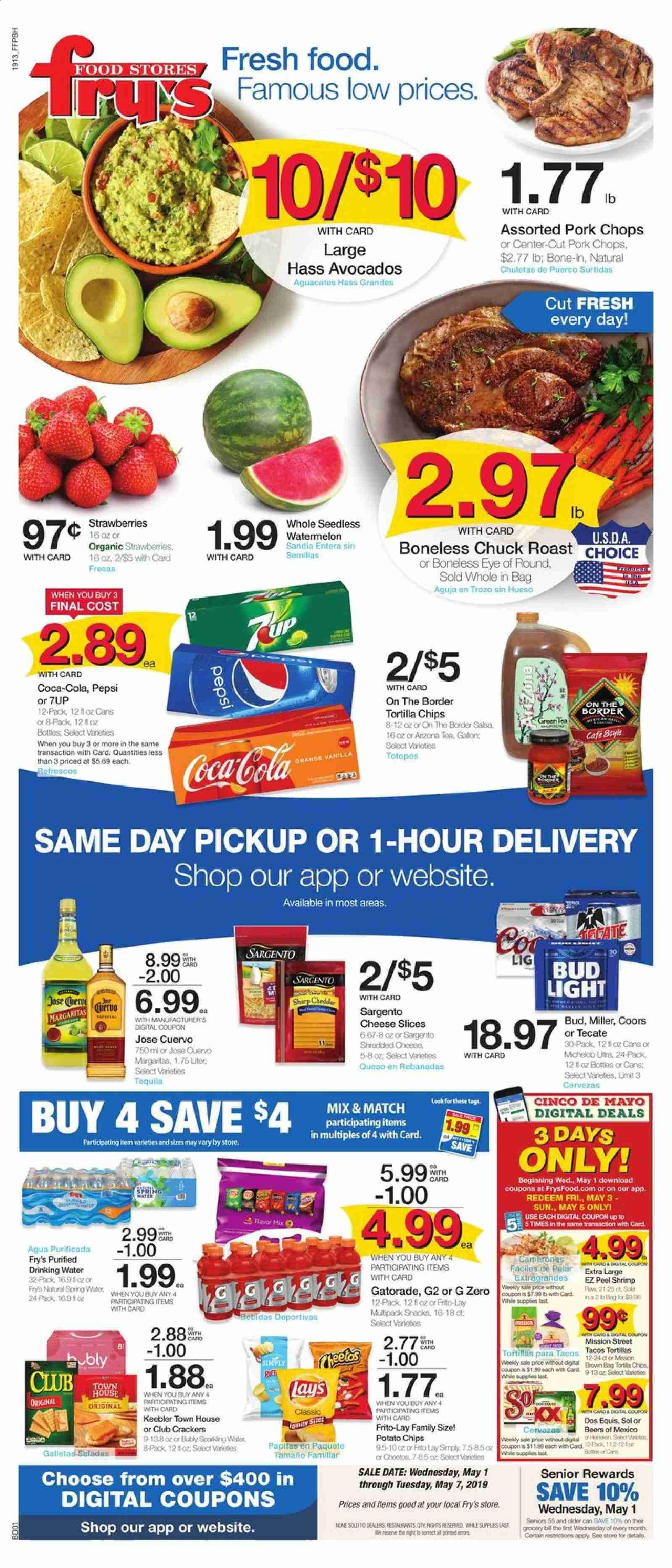 Fry's Flyer  - 05.01.2019 - 05.07.2019. Page 1.