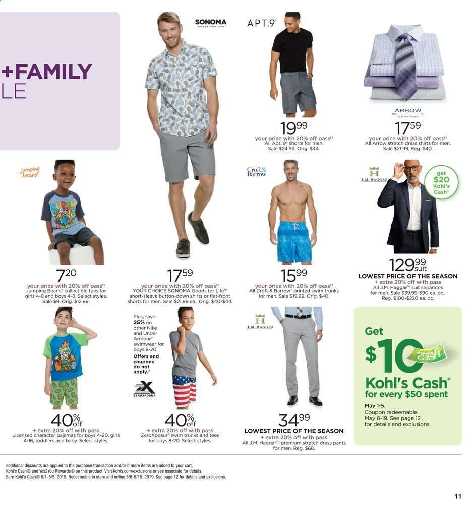 5cf1762693 Kohl's flyer 05.01.2019 - 05.04.2019 | Weekly-ads.us