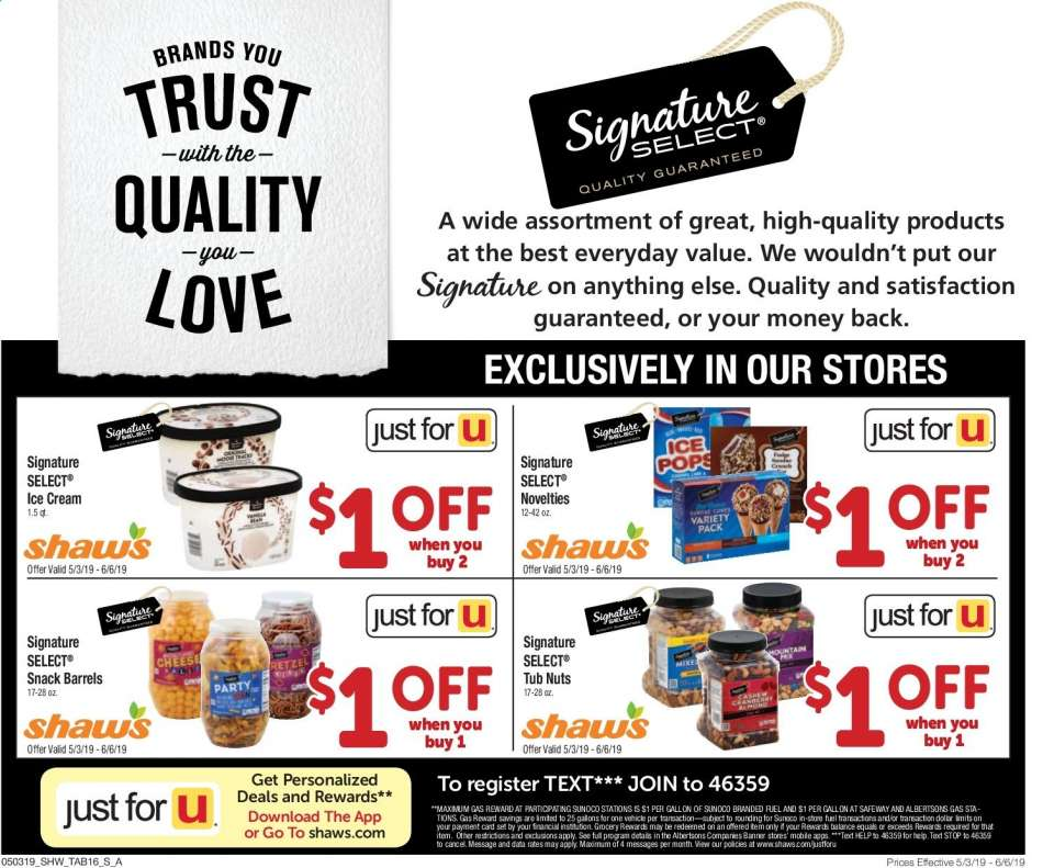 Shaw's flyer 05 03 2019 - 06 06 2019 | Weekly-ads us