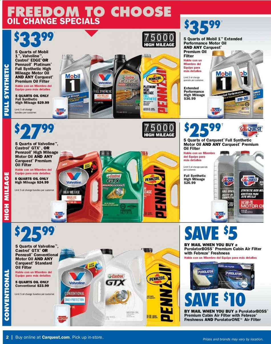 Car Quest flyer 05 02 2019 - 05 29 2019   Weekly-ads us
