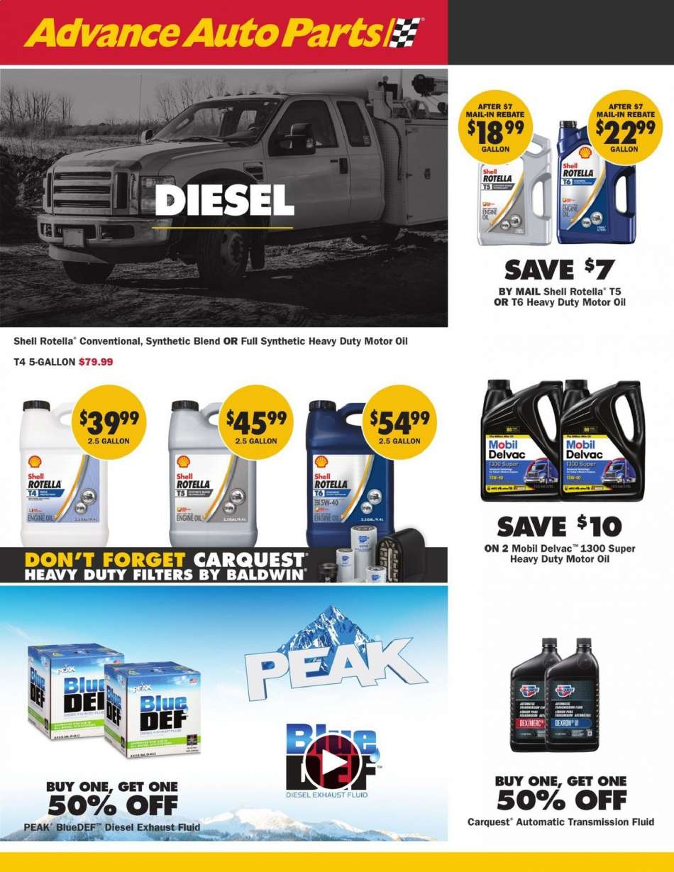 Advance Auto Parts flyer 05 02 2019 - 05 29 2019 | Weekly-ads us