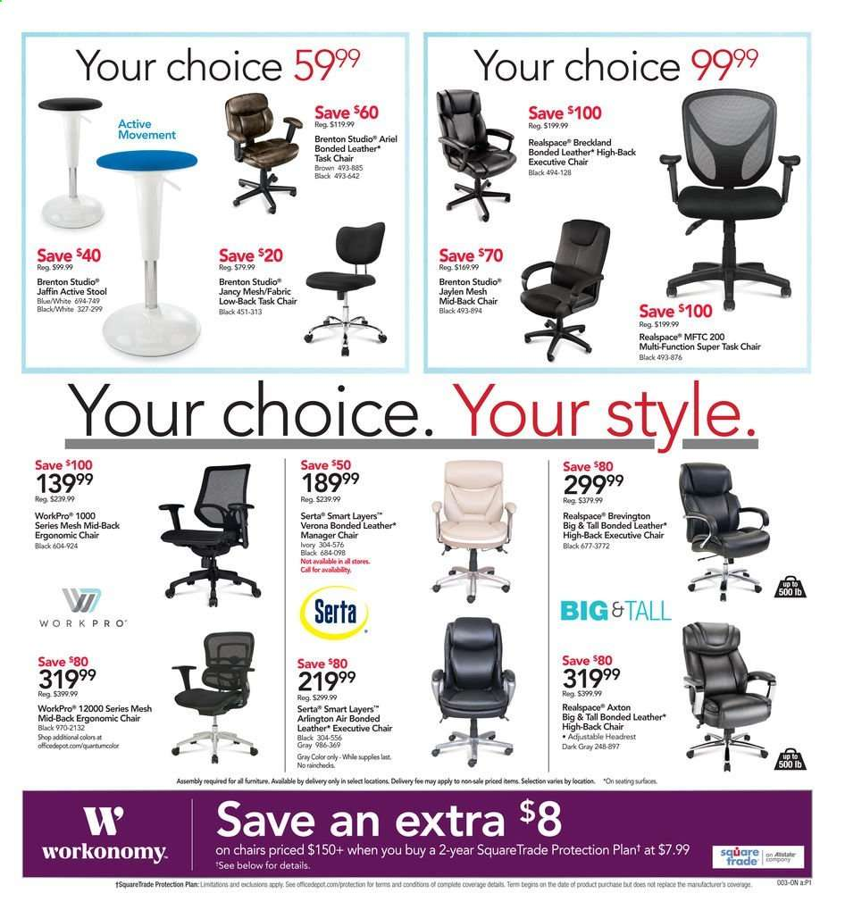 Outstanding Office Depot Flyer 05 05 2019 05 11 2019 Weekly Ads Us Pabps2019 Chair Design Images Pabps2019Com