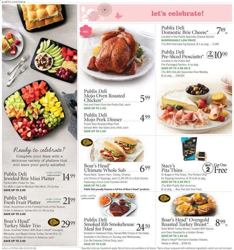 Publix flyer 05 09 2019 - 05 15 2019 | Weekly-ads us