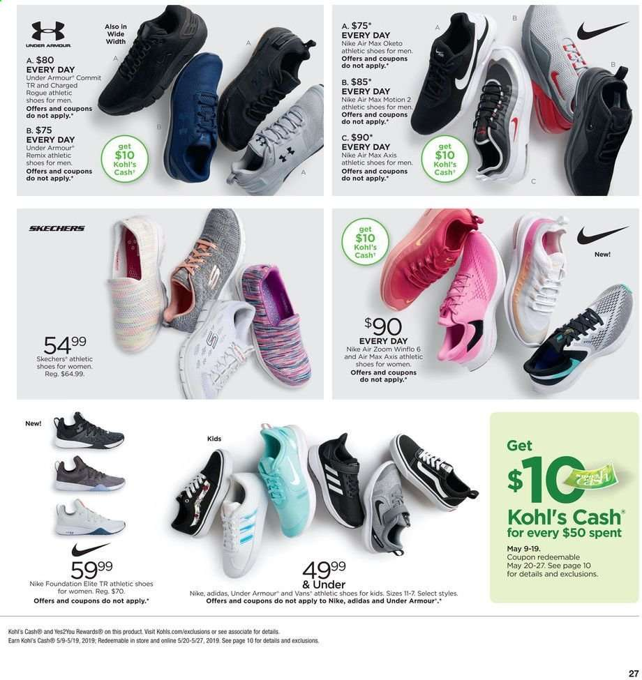 4fe2c9b74acc4 Kohl s Flyer - 05.09.2019 - 05.19.2019 - Sales products - adidas