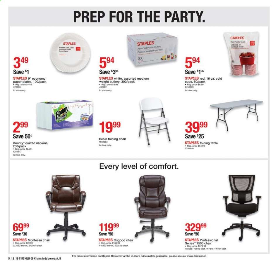 Staples Flyer 05 12 2019 05 18 2019 Weekly Ads Us
