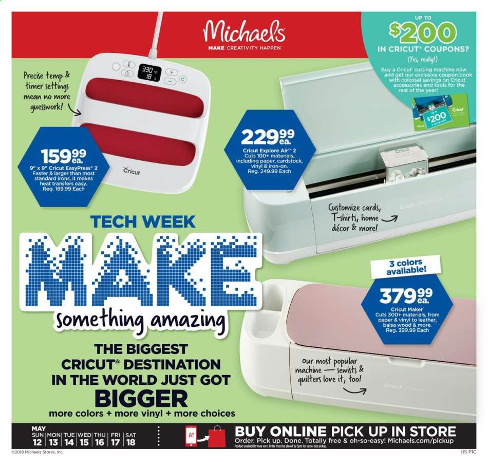 Michaels flyer 05 12 2019 - 05 18 2019 | Weekly-ads us