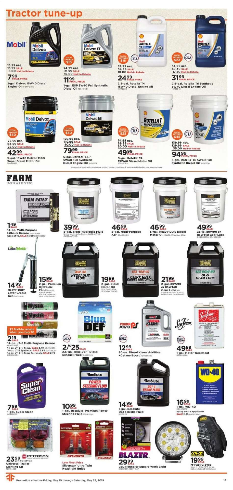 Fleet Farm flyer 05 10 2019 - 05 25 2019 | Weekly-ads us
