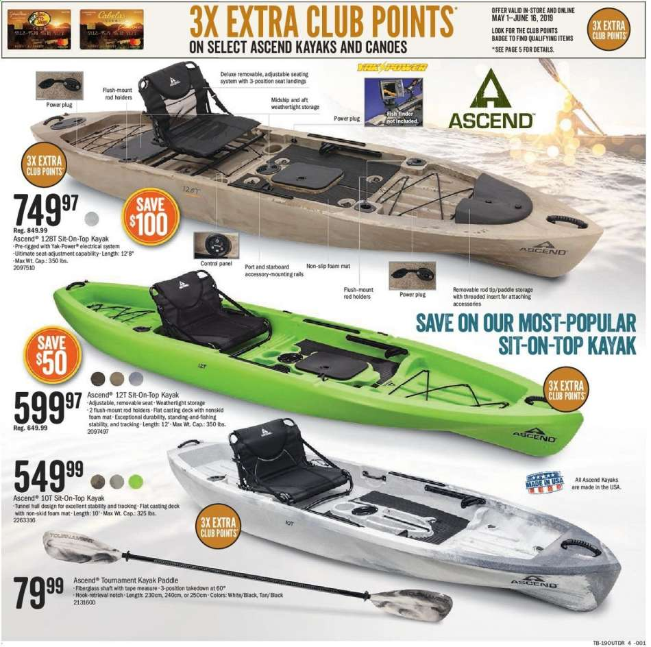 Bass Pro Shops flyer 05 08 2019 - 05 27 2019 | Weekly-ads us