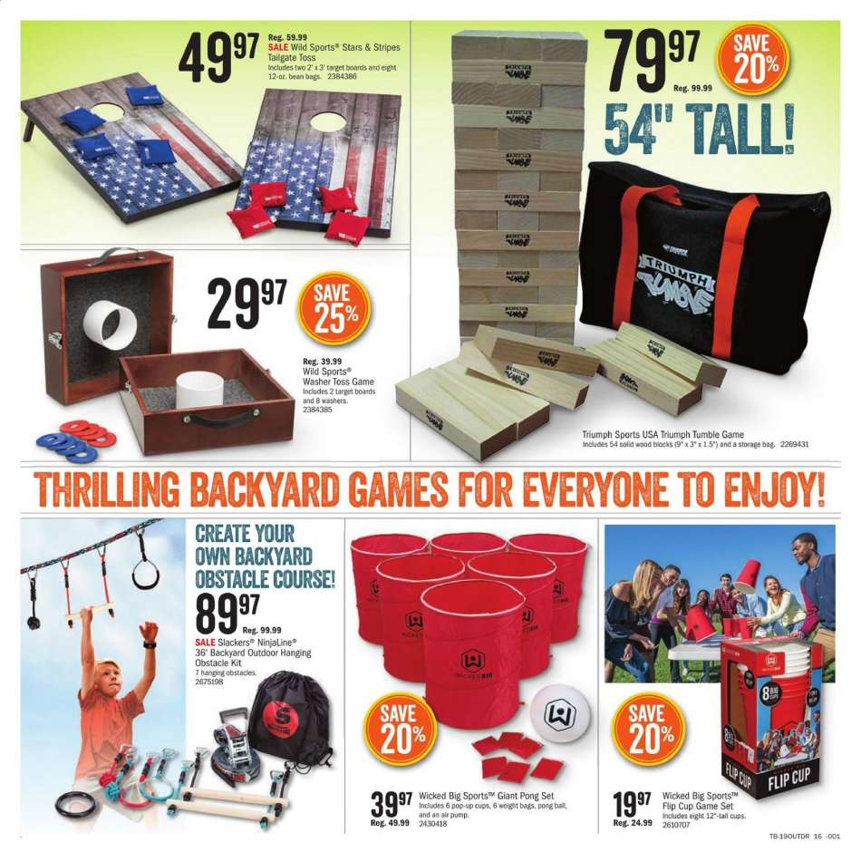 Cabela's flyer 05 08 2019 - 05 27 2019 | Weekly-ads us