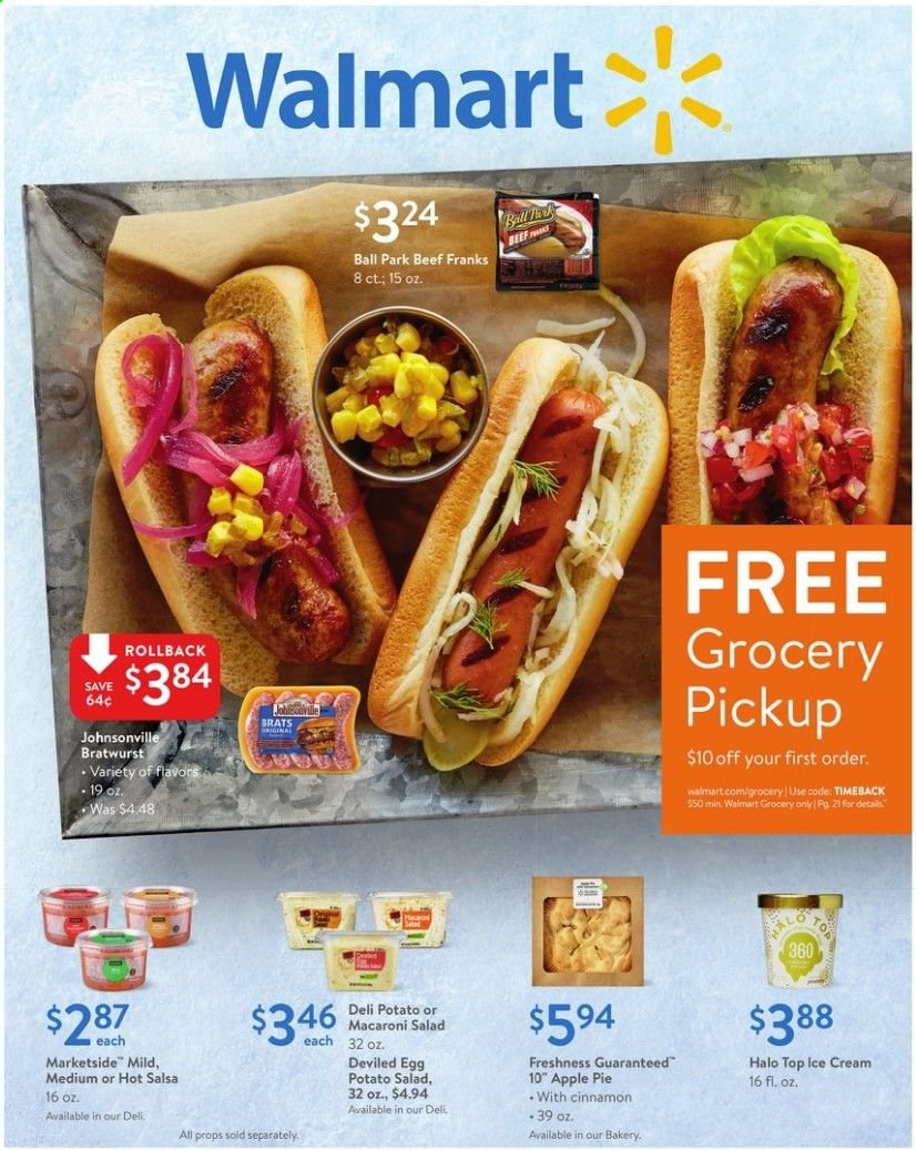 Walmart Flyer  - 05.12.2019 - 05.23.2019. Page 1.