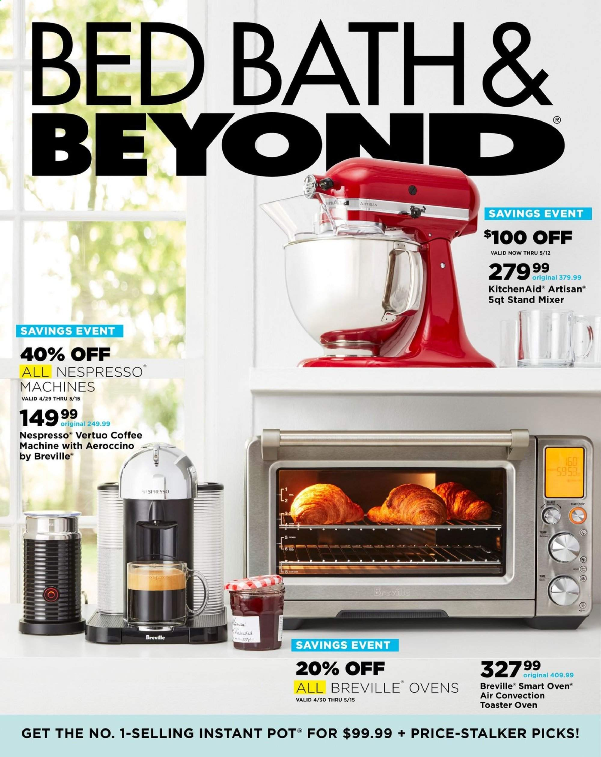Bed Bath & Beyond Flyer  - 04.28.2019 - 06.10.2019. Page 1.
