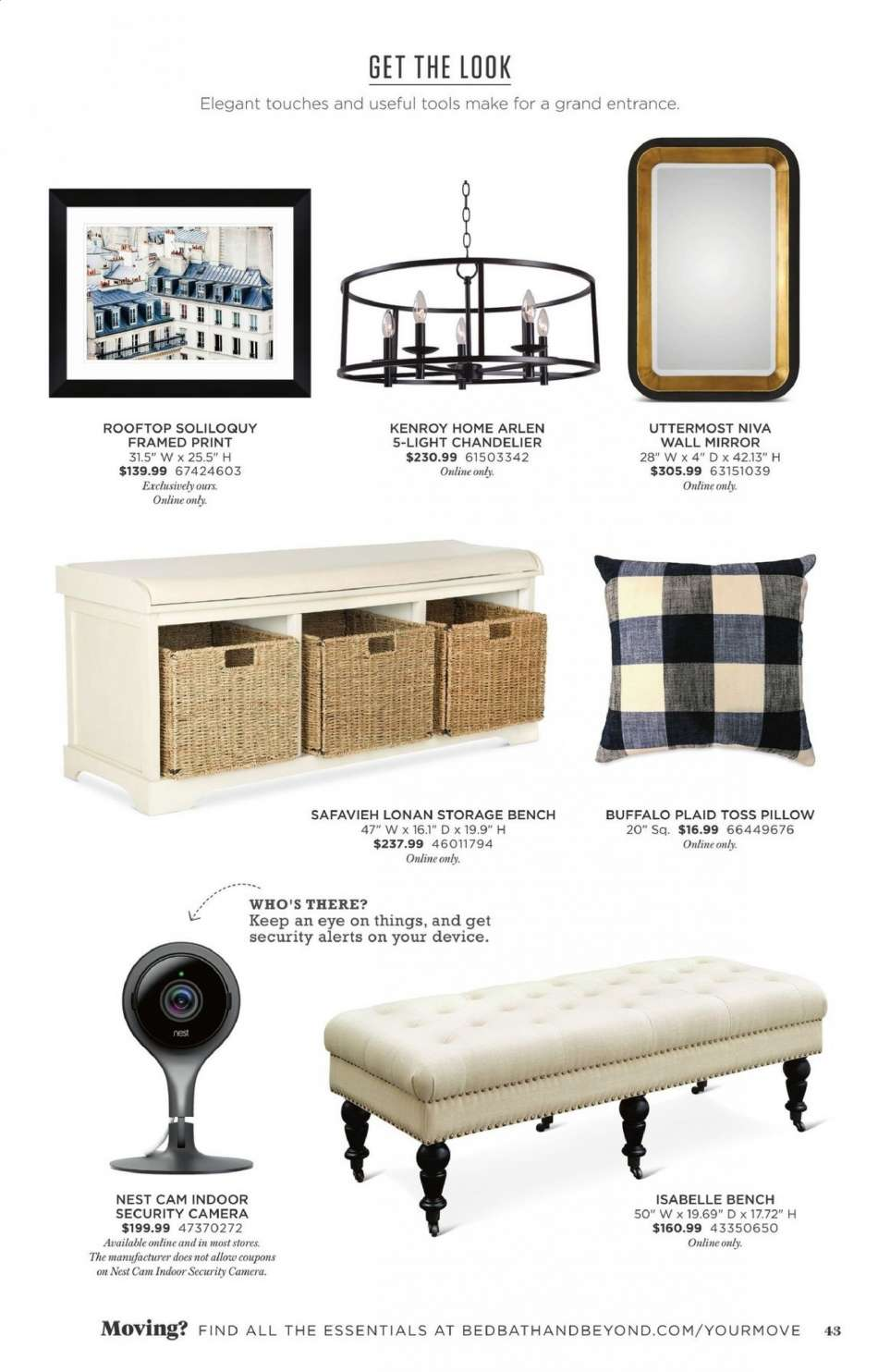 Bed Bath & Beyond flyer 03 08 2019 - 06 15 2019 | Weekly-ads us