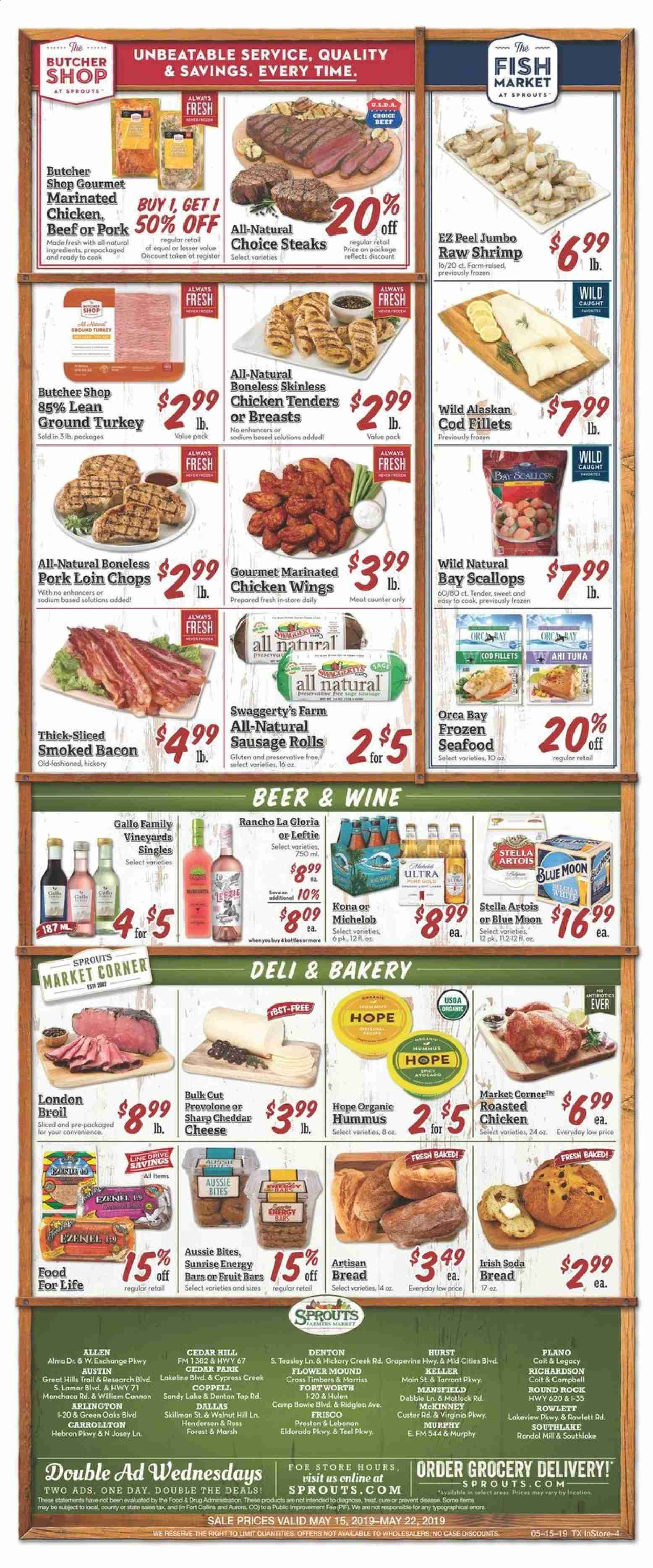 Sprouts Flyer  - 05.15.2019 - 05.22.2019. Page 4.