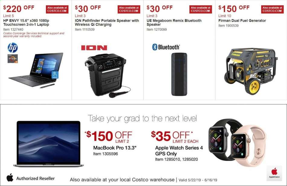Costco flyer 05 22 2019 - 06 16 2019 | Weekly-ads us