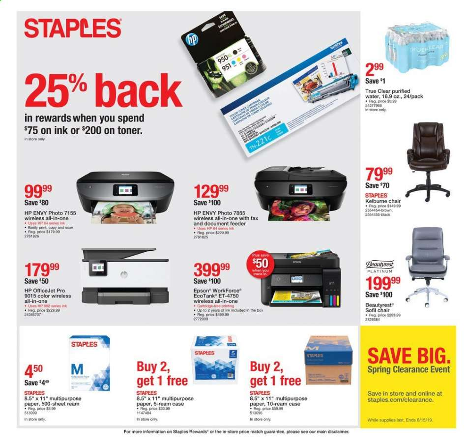 Staples flyer 05 19 2019 - 05 25 2019 | Weekly-ads us