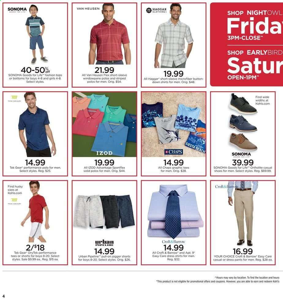 5622c162 Kohl's Flyer - 05.17.2019 - 05.19.2019 - Sales products - bottom,
