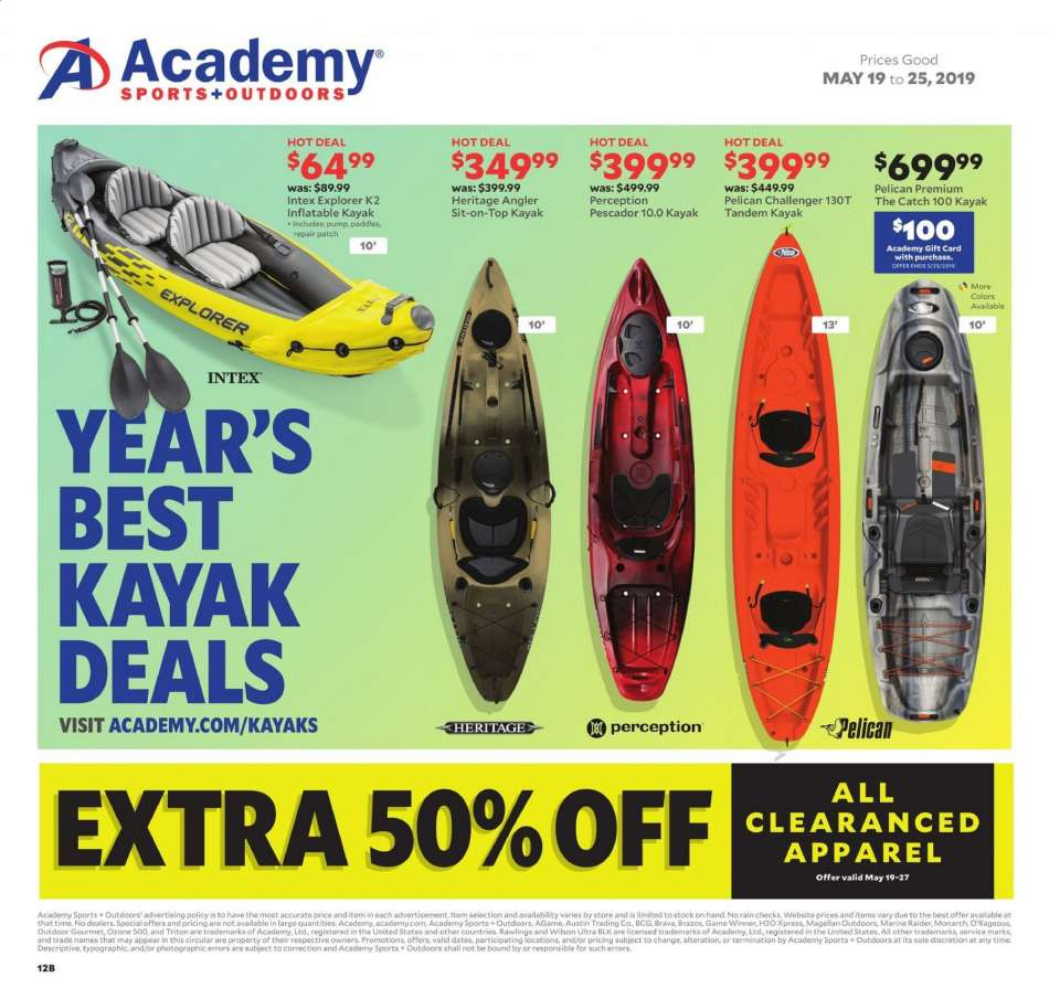 Academy Sports flyer 05 19 2019 - 05 25 2019 | Weekly-ads us