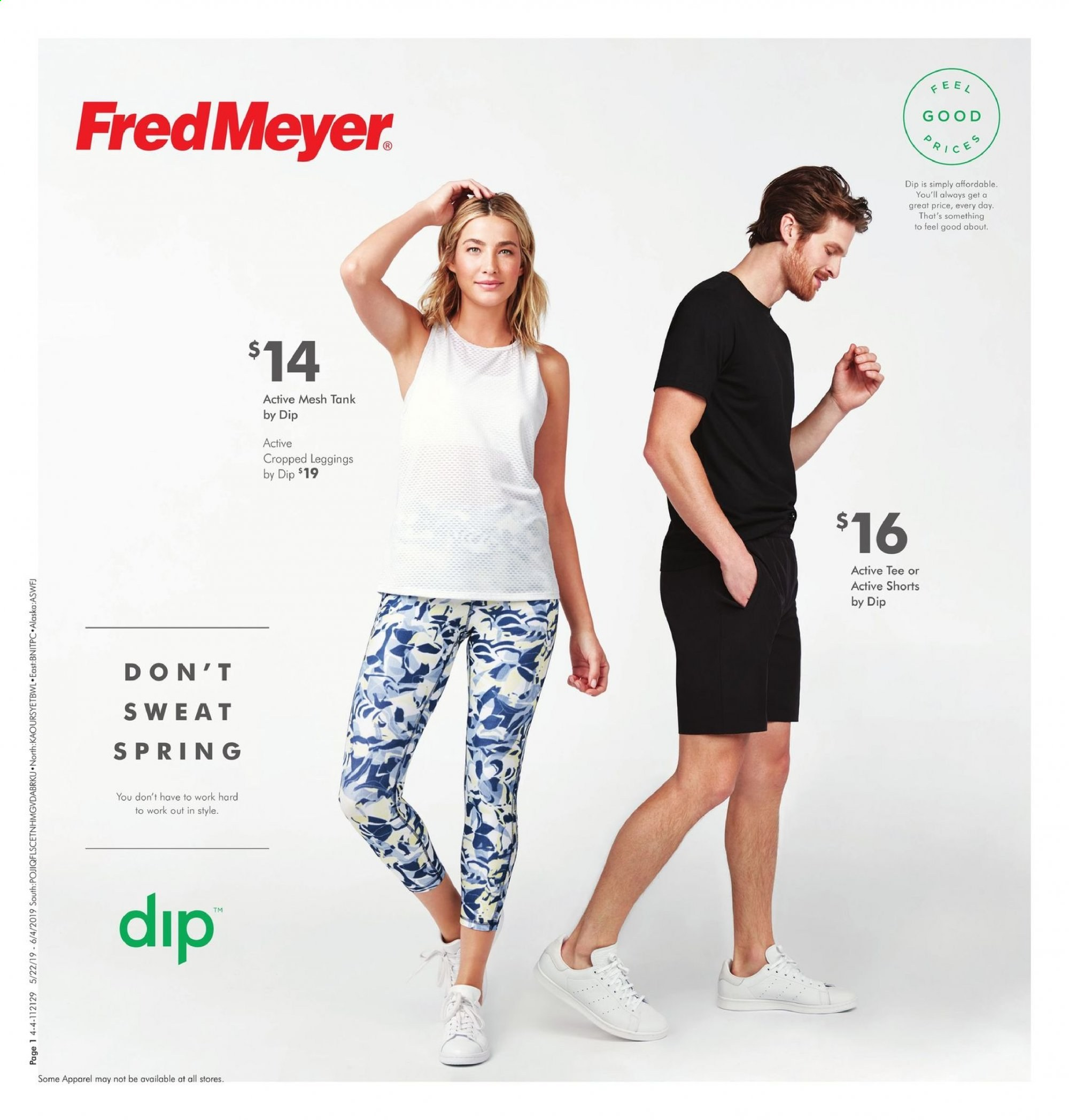 Fred Meyer Flyer - 05.22.2019 - 06.04.2019 - Sales products - rice. Page 1.