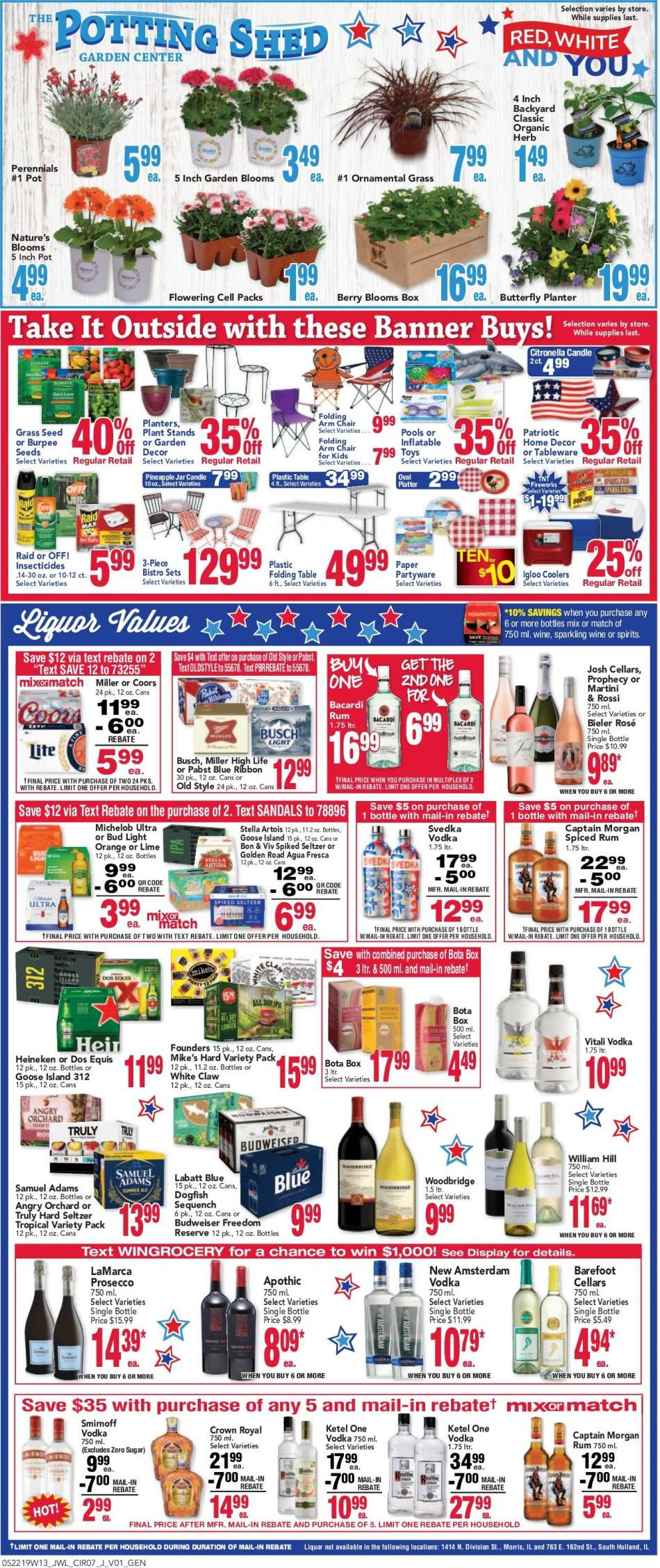 Jewel Osco flyer 05 22 2019 - 05 28 2019 | Weekly-ads us