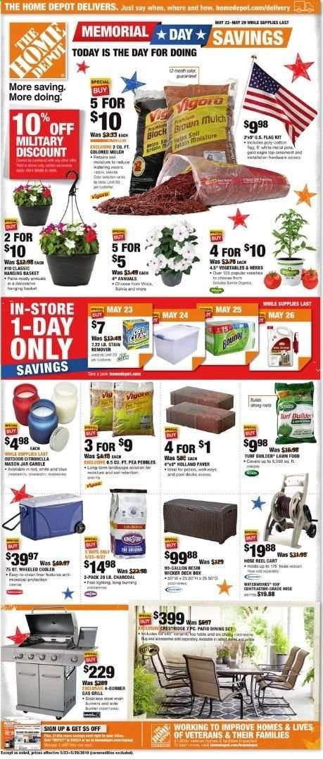 Home Depot Near Me Weekly Ad Home Decor