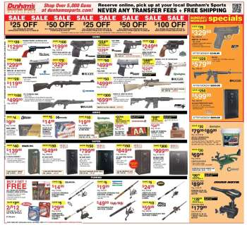 082eab1e6800 Gun Dunham's Sports - deals, sales and price | Weekly-ads.us