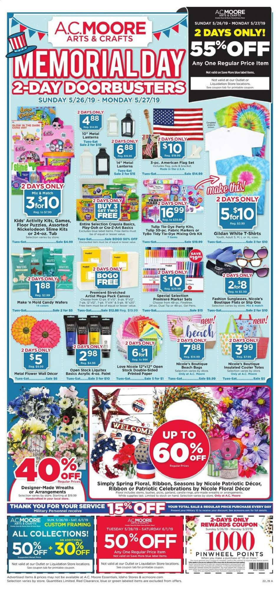 A C  Moore flyer 05 26 2019 - 05 27 2019   Weekly-ads us