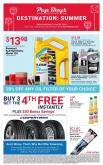Pep Boys Flyer - 05.27.2019 - 06.30.2019.