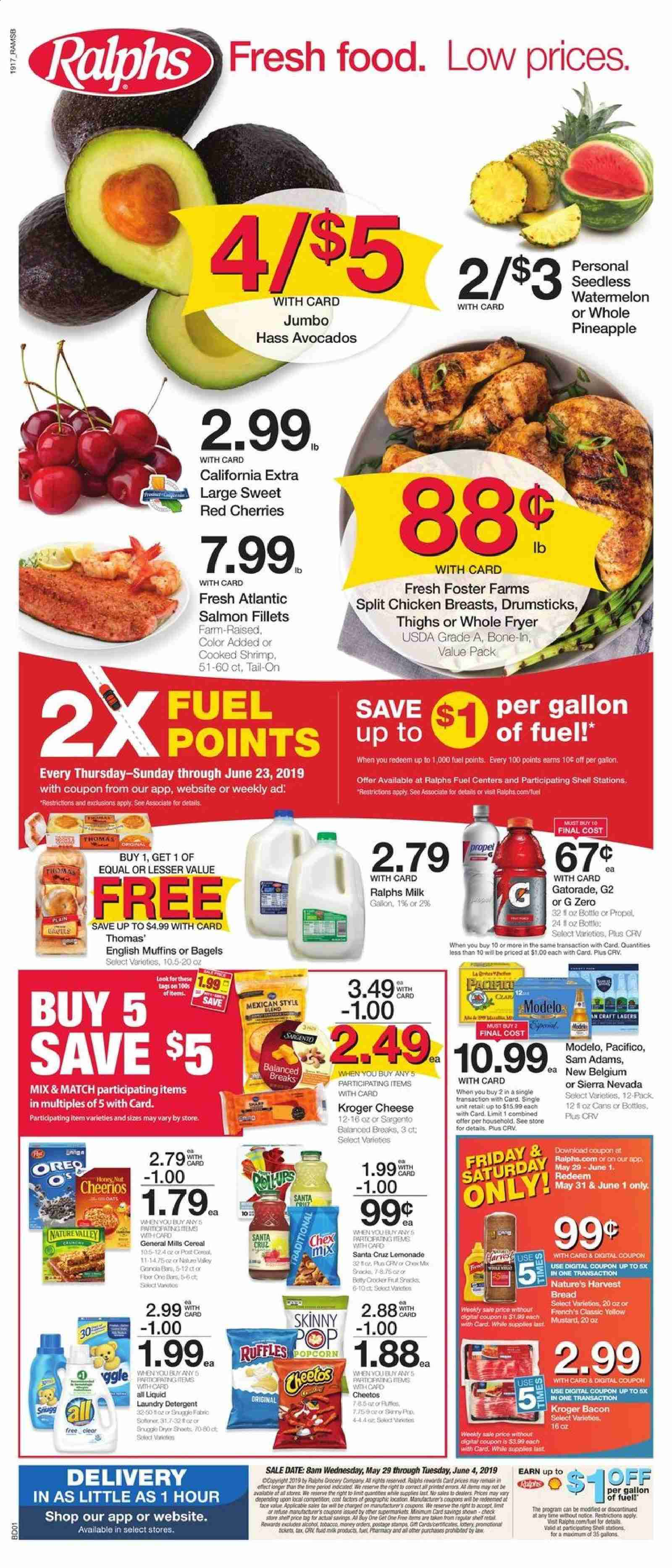 Ralphs Flyer  - 05.29.2019 - 06.04.2019. Page 1.