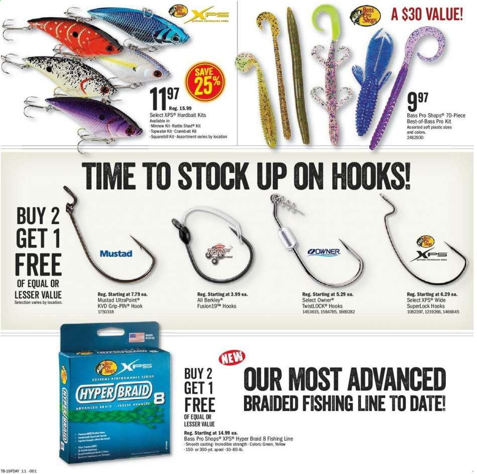 Bass Pro Shops flyer 05 28 2019 - 06 16 2019 | Weekly-ads us