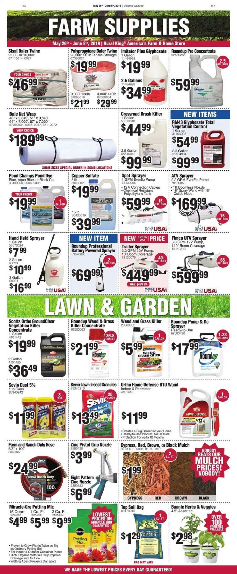 Rural King flyer 05 26 2019 - 06 08 2019 | Weekly-ads us