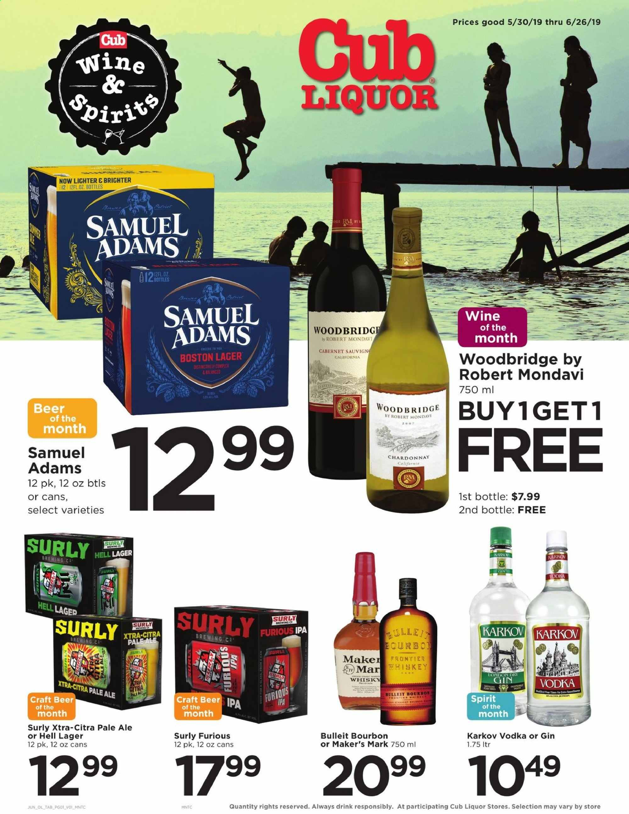 Cub Foods Flyer  - 05.30.2019 - 06.26.2019. Page 1.