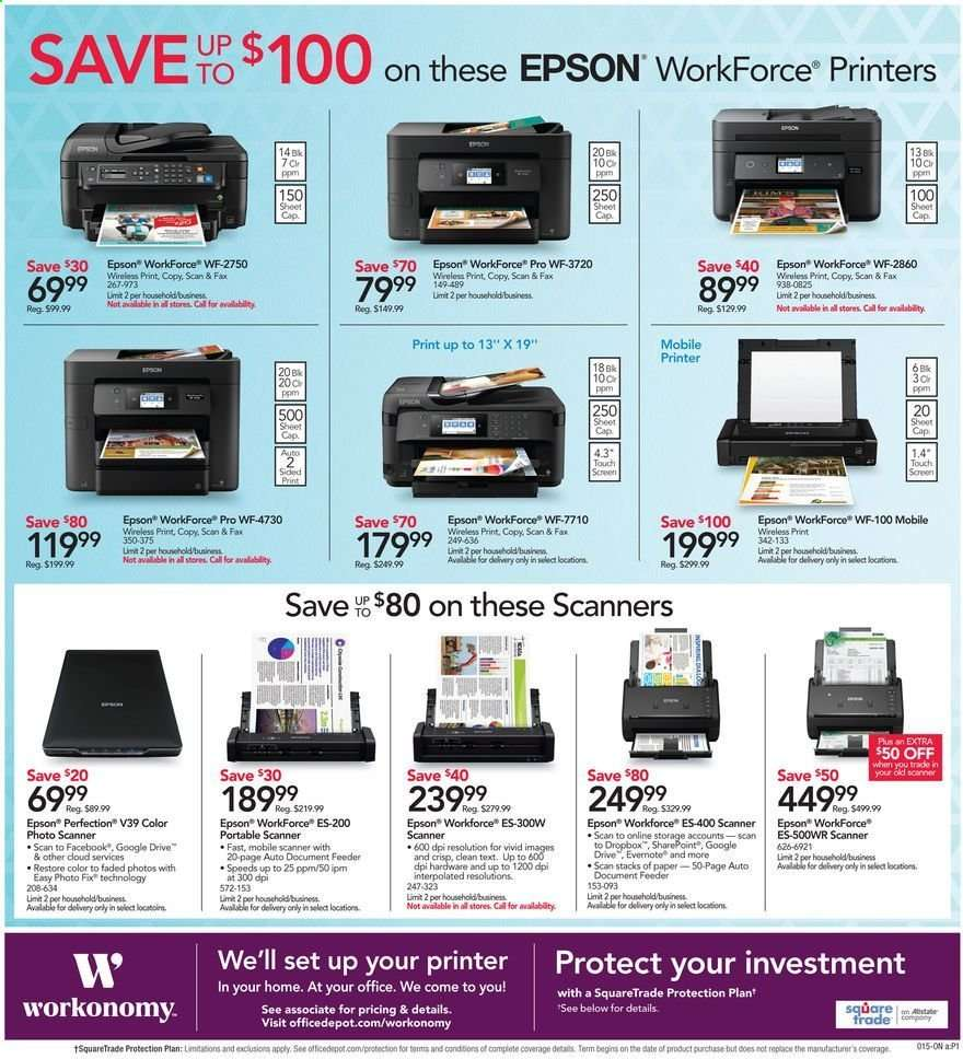 Office DEPOT flyer 06 02 2019 - 06 08 2019 | Weekly-ads us