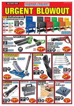 Harbor Freight - ad, flyer, circular, coupon and sales