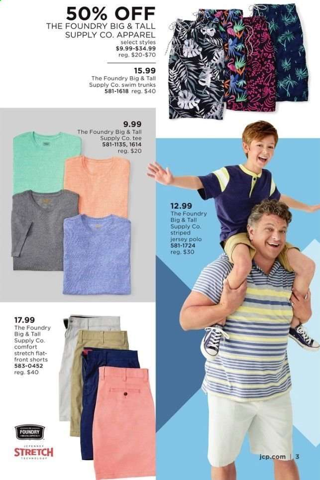 22ddb805b1 JCPenney Flyer - 06.03.2019 - 06.16.2019 - Sales products - apparel,