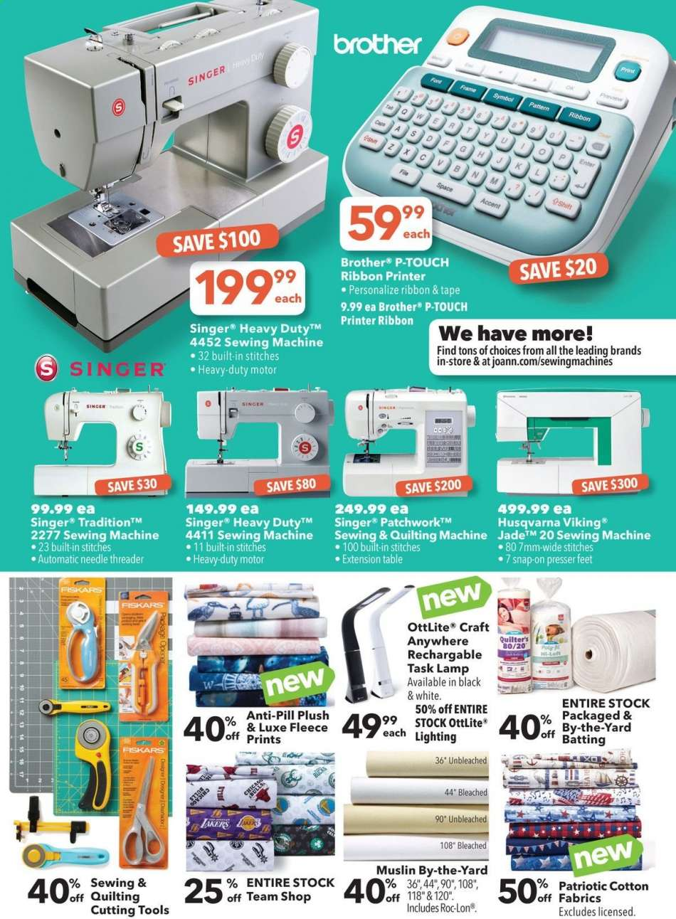JOANN flyer 06 06 2019 - 06 19 2019 | Weekly-ads us
