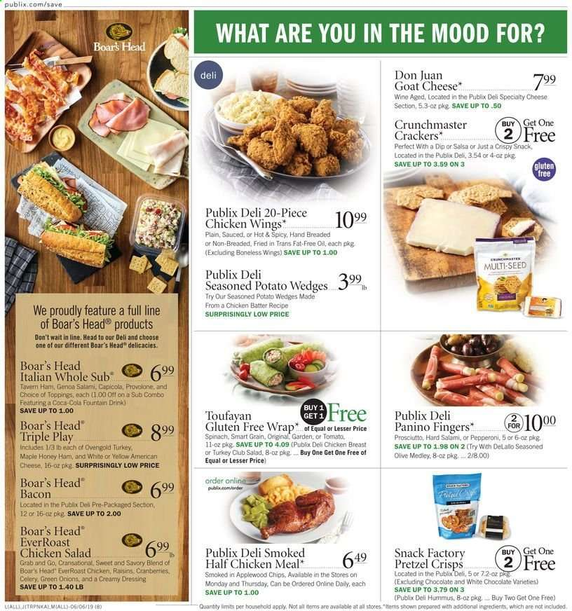 Publix flyer 06 06 2019 - 06 12 2019 | Weekly-ads us